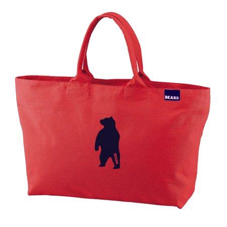 ■ BEARS TOKYO ジップトートバッグ ZIP TOTE BAG ANIMAL BEAR (アニマルベアー) フレンチレッド