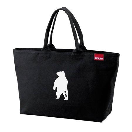 ■ BEARS TOKYO ジップトートバッグ ZIP TOTE BAG ANIMAL BEAR (アニマルベアー) ブラック