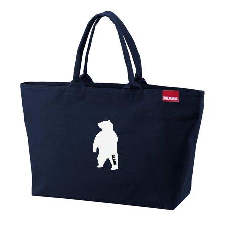 ■ BEARS TOKYO ジップトートバッグ ZIP TOTE BAG ANIMAL BEAR (アニマルベアー) ネイビー