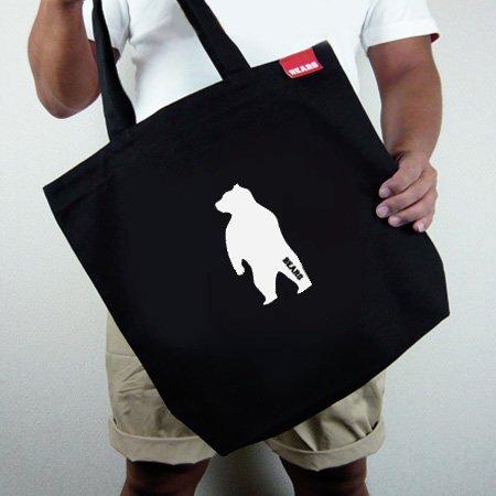 ■ BEARS TOKYOトートバッグ TOTE BAG ANIMAL BEAR (アニマルベアー) ブラック