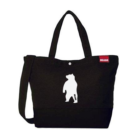 ■ BEARS TOKYO ツーウェイ ショルダートートバッグ 2WAY TOTE BAG ANIMAL BEAR (アニマルベアー) ブラック