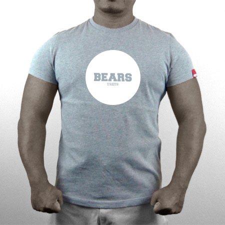 ■ BEARS TOKYO ネオマッスル Tシャツ JAPONISM (ベアーズトウキョウジャポニズム) グレー×ホワイト