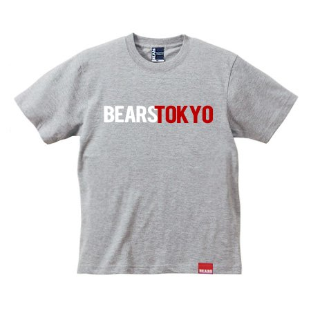 <img class='new_mark_img1' src='//img.shop-pro.jp/img/new/icons13.gif' style='border:none;display:inline;margin:0px;padding:0px;width:auto;' />■ BEARS TOKYO Tシャツ BEARS TOKYO COMBINATION (ベアーズトウキョウコンビネーション) グレー