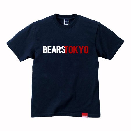 <img class='new_mark_img1' src='//img.shop-pro.jp/img/new/icons13.gif' style='border:none;display:inline;margin:0px;padding:0px;width:auto;' />■ BEARS TOKYO Tシャツ BEARS TOKYO COMBINATION (ベアーズトウキョウコンビネーション) ネイビー