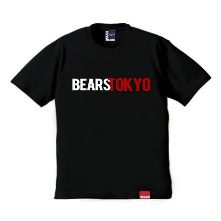 <img class='new_mark_img1' src='//img.shop-pro.jp/img/new/icons13.gif' style='border:none;display:inline;margin:0px;padding:0px;width:auto;' />■ BEARS TOKYO Tシャツ BEARS TOKYO COMBINATION (ベアーズトウキョウコンビネーション) ブラック