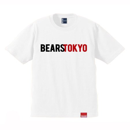 <img class='new_mark_img1' src='//img.shop-pro.jp/img/new/icons13.gif' style='border:none;display:inline;margin:0px;padding:0px;width:auto;' />■ BEARS TOKYO Tシャツ BEARS TOKYO COMBINATION (ベアーズトウキョウコンビネーション) ホワイト