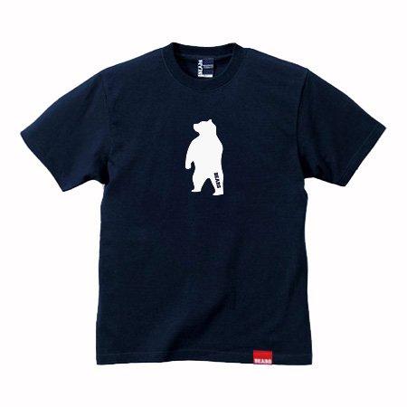 ■ BEARS TOKYO Tシャツ ANIMAL MIDDLE BEAR (アニマルミドルベアー) ネイビー