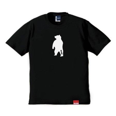 ■ BEARS TOKYO Tシャツ ANIMAL MIDDLE BEAR (アニマルミドルベアー) ブラック
