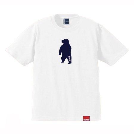 ■ BEARS TOKYO Tシャツ ANIMAL MIDDLE BEAR (アニマルミドルベアー) ホワイト
