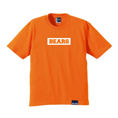 <img class='new_mark_img1' src='//img.shop-pro.jp/img/new/icons13.gif' style='border:none;display:inline;margin:0px;padding:0px;width:auto;' />■ BEARS TOKYO Tシャツ BEARS BOX LOGO (ベアーズボックスロゴ) オレンジ