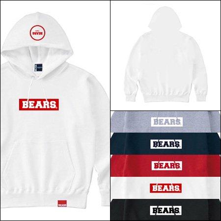 ■ BEARS TOKYO プルオーバースウェットパーカー BEARS BOX LOGO(ベアーズボックスロゴ)5色展開
