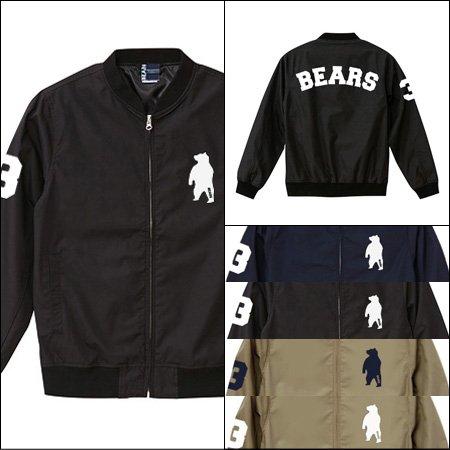 ■ ANIMAL BEAR ベースボールジャケット BASE BALL JACKET