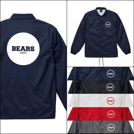 ■ BEARS TOKYO コーチジャケット COACH JACKET BEARS TOKYO JAPONISM (ジャポニズム) 5色展開
