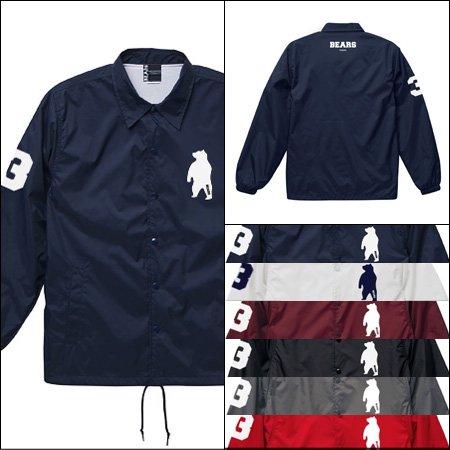 ■ ANIMAL BEAR コーチジャケット COACH JACKET (アニマルベアベアーコーチジャケット) 6色展開