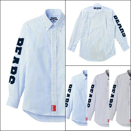 ■ BEARS TOKYO 長袖ストライプシャツ STRIPE SHIRT BEARS SLEEVE(ベアーズスリーブ)3色展開