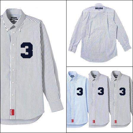 ■ BEARS TOKYO 長袖ストライプシャツ STRIPE SHIRT