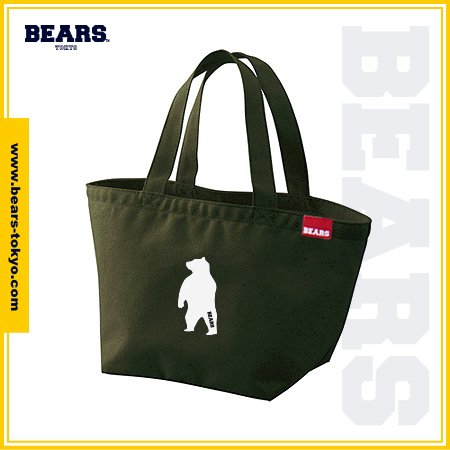 "<img class='new_mark_img1' src='//img.shop-pro.jp/img/new/icons1.gif' style='border:none;display:inline;margin:0px;padding:0px;width:auto;' />■ BEARS TOKYO LUNCH BAG ランチバッグ ""ANIMAL BEAR"" (アニマルベアー) カーキ"