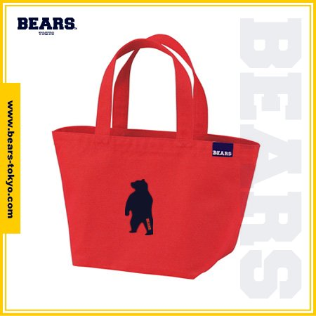 "<img class='new_mark_img1' src='//img.shop-pro.jp/img/new/icons1.gif' style='border:none;display:inline;margin:0px;padding:0px;width:auto;' />■ BEARS TOKYO LUNCH BAG ランチバッグ ""ANIMAL BEAR"" (アニマルベアー) レッド"