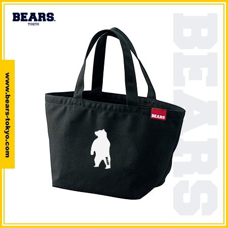 "<img class='new_mark_img1' src='//img.shop-pro.jp/img/new/icons1.gif' style='border:none;display:inline;margin:0px;padding:0px;width:auto;' />■ BEARS TOKYO LUNCH BAG ランチバッグ ""ANIMAL BEAR"" (アニマルベアー) ブラック"
