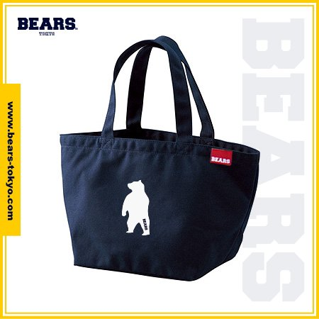 "<img class='new_mark_img1' src='//img.shop-pro.jp/img/new/icons1.gif' style='border:none;display:inline;margin:0px;padding:0px;width:auto;' />■ BEARS TOKYO LUNCH BAG ランチバッグ ""ANIMAL BEAR"" (アニマルベアー) ネイビー"