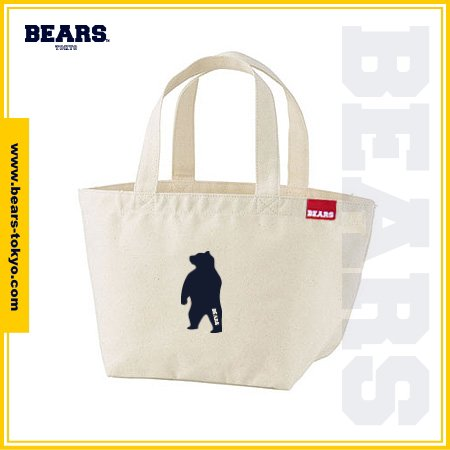 "<img class='new_mark_img1' src='//img.shop-pro.jp/img/new/icons1.gif' style='border:none;display:inline;margin:0px;padding:0px;width:auto;' />■ BEARS TOKYO LUNCH BAG ランチバッグ ""ANIMAL BEAR"" (アニマルベアー) ナチュラル"