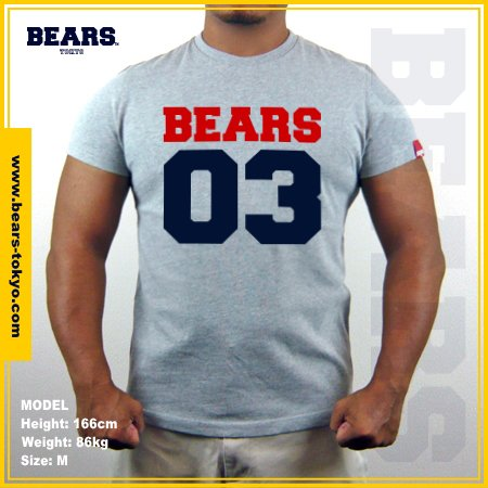 <img class='new_mark_img1' src='https://img.shop-pro.jp/img/new/icons1.gif' style='border:none;display:inline;margin:0px;padding:0px;width:auto;' />■ BEARS TOKYO MUSCLE T-SHIRTS マッスルTシャツ