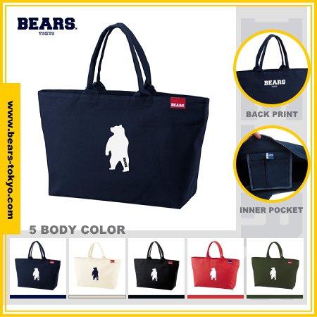 ■ BEARS TOKYO ジップトートバッグ ZIP TOTE BAG