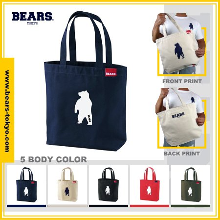 ■ BEARS TOKYOトートバッグ TOTE BAG