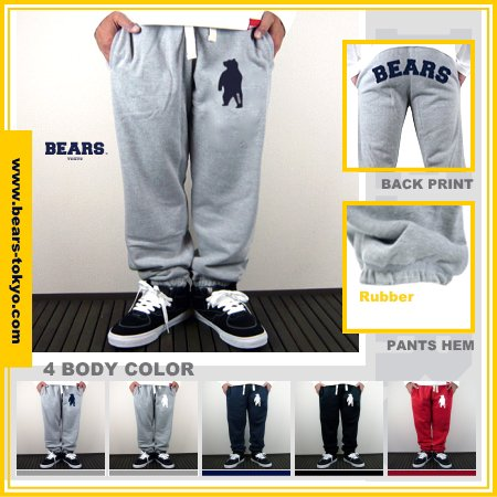■ BEARS TOKYO スウェットパンツ SWEAT PANTS