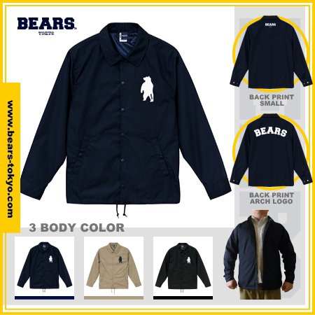 ■ BEARS TOKYO コーチジャケット COACH JACKET