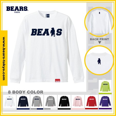 <img class='new_mark_img1' src='https://img.shop-pro.jp/img/new/icons13.gif' style='border:none;display:inline;margin:0px;padding:0px;width:auto;' />■ BEARS TOKYO ロンT LONG SLEEVE T-SHIRT