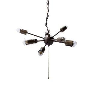 SPARK M LAMP ペンダントランプ 照明 ガラス 多灯 LED対応 長さ調節可能 デザイン照明 ヴィンテージ風