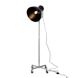 HUNT FLOOR LAMP フロアランプ 照明 1灯照明 LED対応 間接照明 キャスター付き インダストリアル レトロ ヴィンテージ ダイニング