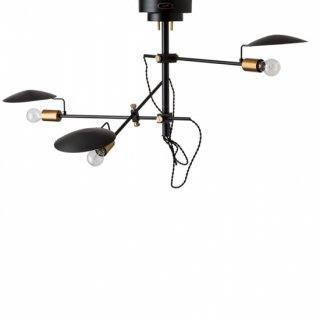 POLDER 3 シーリングランプ 照明 3灯 LED対応 角度調節 リモコン付き シンプル デザイン照明 インダストリアル おしゃれ