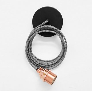 【PENDANT】NL COPPER HOLDER & ELEPHANT GRAY