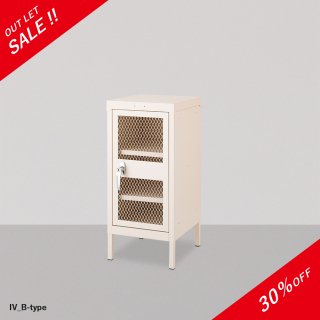 <img class='new_mark_img1' src='https://img.shop-pro.jp/img/new/icons20.gif' style='border:none;display:inline;margin:0px;padding:0px;width:auto;' />【OUT LET】LOIRE STEEL CABINET B-Type IV