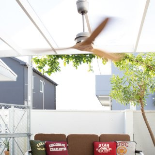 <img class='new_mark_img1' src='https://img.shop-pro.jp/img/new/icons14.gif' style='border:none;display:inline;margin:0px;padding:0px;width:auto;' />BASQUE WOOD CEILING FAN  NT シーリングファン ウッドシーリングファン リモコン付き ウッド調 レトロ ヴィンテージ 玄関 リビング