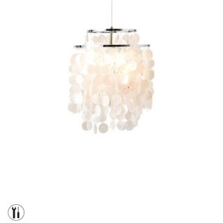 SHELL LAMP ペンダントランプ 照明 LED対応 カピス貝 デザイン照明 コード加工可 海 おしゃれ 西海岸
