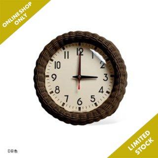 RATTAN CLOCK  時計 壁掛け スイープムーブメント おしゃれ シンプル