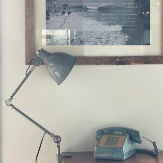 INDUSTRY DESK LAMP デスクランプ LED デザイン照明 寝室 机 おしゃれ レトロ インダストリアル