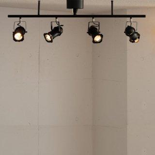 STUDIO 4 シーリングランプ 照明 4灯照明 LED対応 角度調節 シンプル デザイン照明 おしゃれ スタジオ