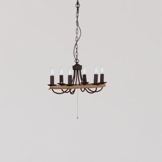 CIRCLE ROPE CHANDELIER