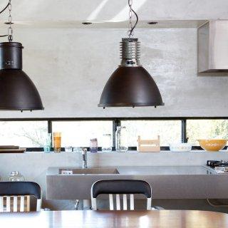 BYRON LAMP ペンダントランプ 照明 ガラス 1灯照明 LED対応 長さ調節可能 コード加工可 大きい リビング ダイニング カフェ おしゃれ
