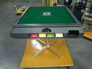 全自動麻雀卓 雀豪ドーム+テンリーダー整備・メンテナンス済み 12ヶ月保証