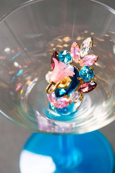 Flower Lampshade Brooch (フラワー ラ...