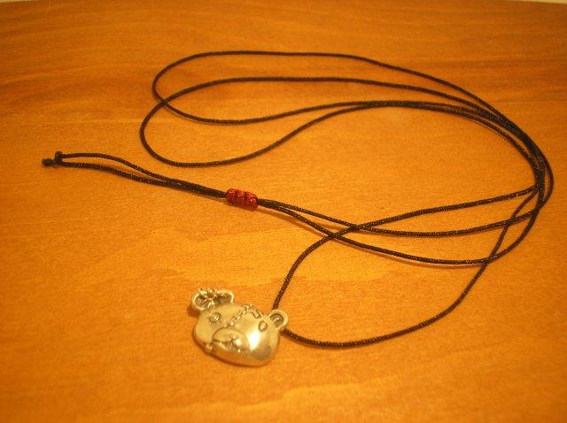 PENDANT -BEAR HEAD- (真鍮)