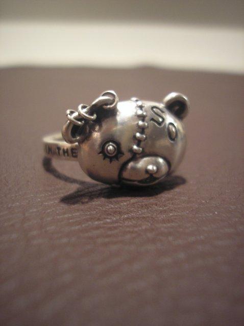SMALL RING -BEAR HEAD-
