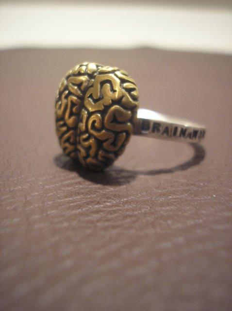 SMALL RING -BRAIN-