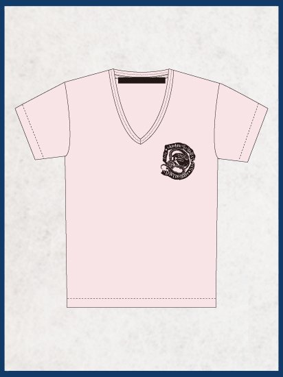 <img class='new_mark_img1' src='//img.shop-pro.jp/img/new/icons60.gif' style='border:none;display:inline;margin:0px;padding:0px;width:auto;' />V-NECK T-SHIRTS  -DM- (LIGHT PINK)