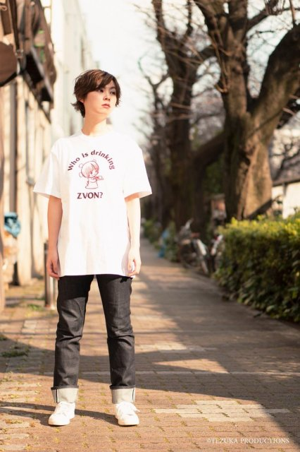 <img class='new_mark_img1' src='//img.shop-pro.jp/img/new/icons59.gif' style='border:none;display:inline;margin:0px;padding:0px;width:auto;' />ピノコ×ZVON COFFEE   Tシャツ / WHITE (UNISEX)
